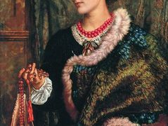 The Birthday (A Portrait Of The Artist's Wife, Edith) – William Holman Hunt