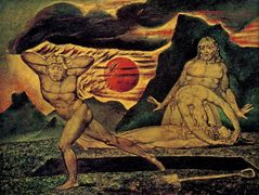 The Body of Abel Found by Adam & Eve – William Blake