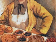 The breadseller from rue Lepic — Zinaida Serebriakova