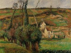 The cabage place at Pontoise – Camille Pissarro