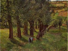 The cabbage of Pontoise – Camille Pissarro