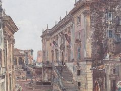 The Capitol in Rome – Rudolf von Alt