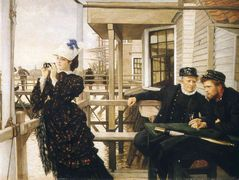 The Captain's Daughter – James Tissot