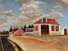 The chair factory at Alfortville  – Henri Rousseau