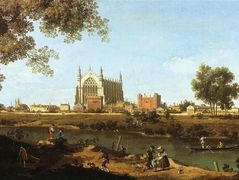 The Chapel of Eton College – Canaletto