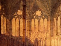 The Chapter House, Salisbury Chathedral — William Turner