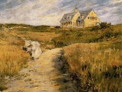 The Chase Homestead at Shinnecock — William Merritt Chase