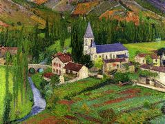 The Church at Labastide – Henri Martin