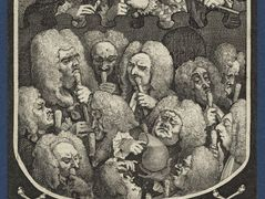The Company of Undertakers — William Hogarth