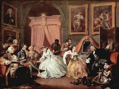The Countess's Morning Levee — William Hogarth