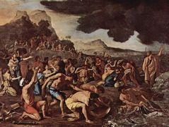 The crossing of the Red Sea – Nicolas Poussin