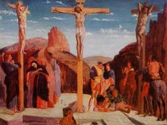 The Crucifixion (after Mantegna) — Edgar Degas