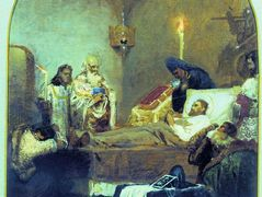 The death of Alexander Nevsky – Henryk Siemiradzki