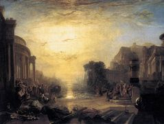 The Decline of the Carthaginian Empire – William Turner