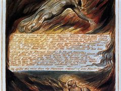 The Descent Of Christ – William Blake