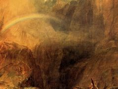 The Devil's Bridge, St. Gothard — William Turner