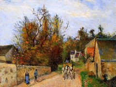 The diligence – Camille Pissarro