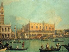 The Doge's Palace with the Piazza di San Marco – Canaletto