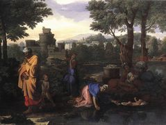 The Exposition of Moses – Nicolas Poussin