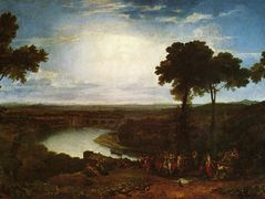 The Festival of the Opening of the Vintage, Macon  – William Turner