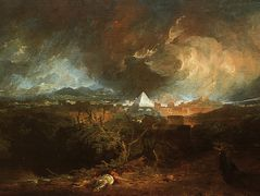 The Fifth Plague of Egypt — William Turner