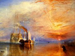 The «Fighting Temeraire» Tugged to her Last Berth to be Broken up — William Turner
