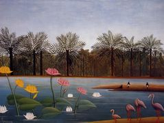 The Flamingoes – Henri Rousseau