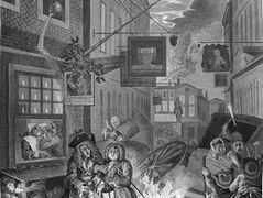 The Four Times of Day: Night — William Hogarth