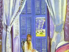 The French Window at Nice  – Henri Matisse
