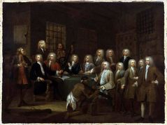 The Gaols Committee of the House of Commons – William Hogarth