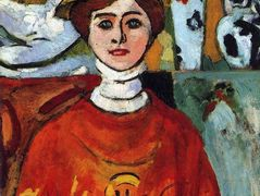 The girl with green eyes – Henri Matisse