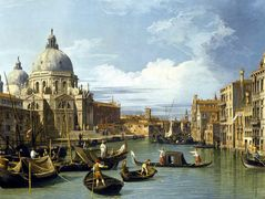 The Grand Canal and the Church of the Salute – Canaletto