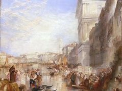 The Grand Canal Scene, A Street In Venice — William Turner