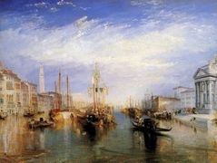 The Grand Canal, Venice, engraved by William Miller — William Turner