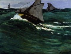 The Green Wave — Claude Monet