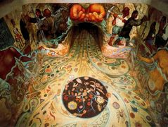 The Hands of Nature Offering Water — Diego Rivera