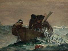 The Herring Net – Winslow Homer