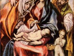 The Holy Family with St. Anne and the Young St. John the Baptist – El Greco