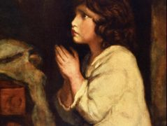 The Infant Samuel at Prayer  – Joshua Reynolds