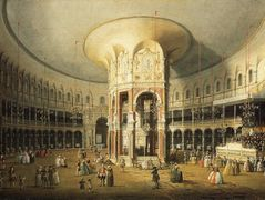The Interior of the Rotunda, Ranelagh Gardens – Canaletto