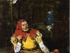 The King's Jester – William Merritt Chase