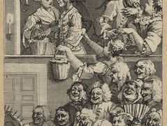 The Laughing Audience (or A Pleased Audience) — William Hogarth