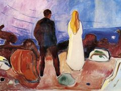 The Lonely Ones — Edvard Munch