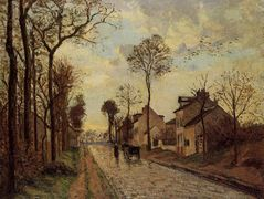 The Louveciennes Road – Camille Pissarro