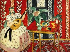 The lute – Henri Matisse