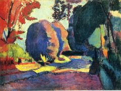 The Luxembourg Gardens – Henri Matisse