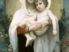 The Madonna of the Roses – William-Adolphe Bouguereau