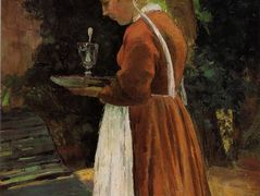 The Maidservant – Camille Pissarro