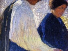The Married Couple Study for Reapers – Henri Martin