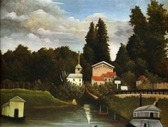 the Mill at Alfor – Henri Rousseau